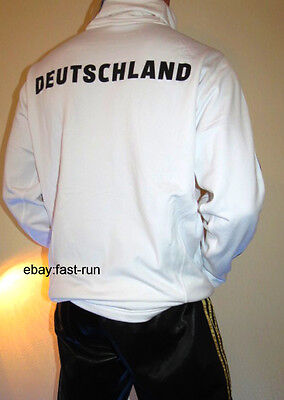 NEU NEW ADIDAS Deutschland XL Sweatshirt Rollkragen Sportshirt Freizeitshirt