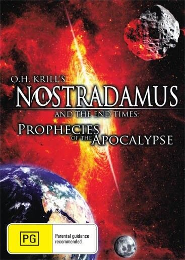 O.H. KRILLS NOSTRADAMUS AND THE END OF TIMES  - NEW DVD FREE LOCAL POST