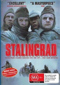 STALINGRAD  - ORIGINAL VERSION!  GERMAN OR ENGLISH AUDIO - NEW & SEALED DVD