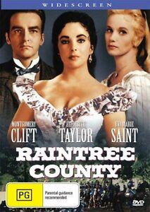 RAINTREE COUNTY - ELIZABETH TAYLOR - NEW & SEALED DVD