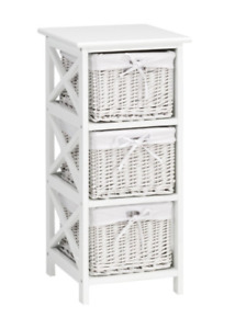 Side storage shelf/table and baskets for sale