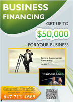 Small Business Loan up to CAD 50,000