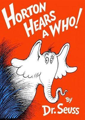 "Lovvbugg Mini Dr. Seuss Horton Book for 18"" American Girl Doll Accessory"