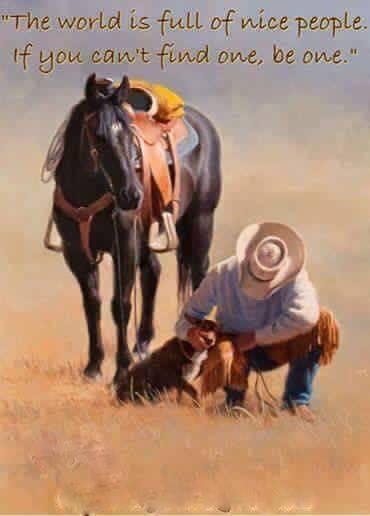 "Horse and cowboy refrigerator magnet 3 1/2  ""X 3 1/2 """