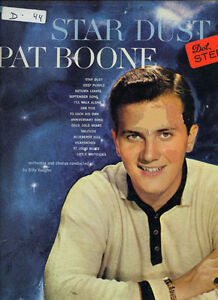 Pat Boone  Original Record  collector Item.