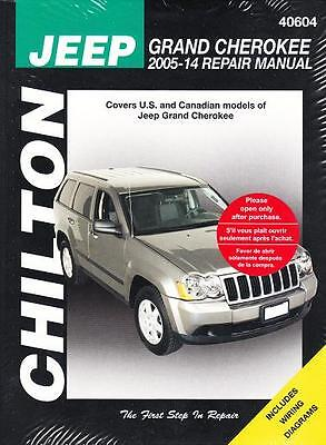 Jeep Service Manual (2005-2014 Jeep Grand Cherokee Chilton Repair Service Workshop Manual Book 22525 )