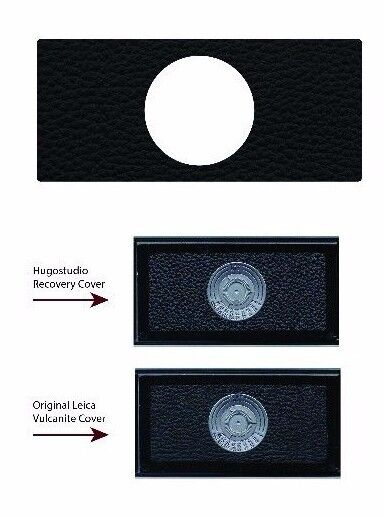 Leica M4, M3, M2 & M1 Backdoor Leatherette Replacement Cover - Laser Cut
