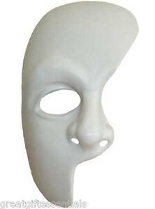 PHANTOM OF THE OPERA Costume Broadway MASK Masque *NEW*