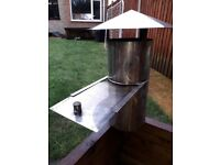 £20 - Wood Burner Rain Cap / Flue 6 inch diameter