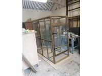 6ft x 3ft x 6ft high aviary with safety door