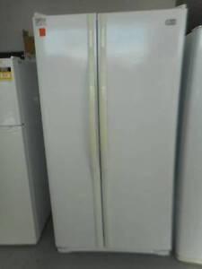 (MFF 533) Second Hand Fridge / Freezer LG D/DOOR WHITE Bundall Gold Coast City Preview