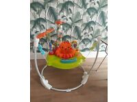 Fisher Price Rainforest Jumperoo Baby Bouncer *IMMACULATE*