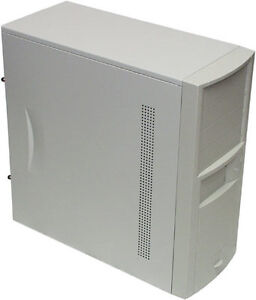 Old school White tower case