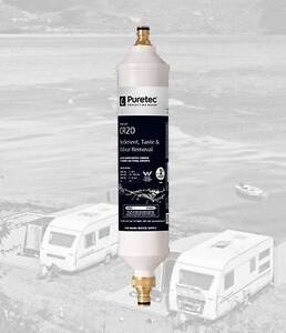 Puretec Inline Caravan / RV Water Filter System Paradise Campbelltown Area Preview