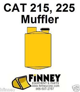 Cat Caterpillar 215 225 Excavator NEW Muffler 6N3964