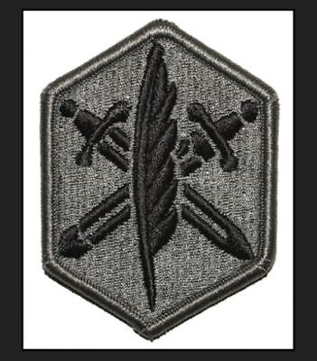 US Army 85th Civil Affairs Brigade (85CA) hook and pile tape ACU Patch