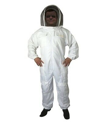 Bee Smart 400 Bee Keeping Suit With Fencing Hatveil - Size X Large