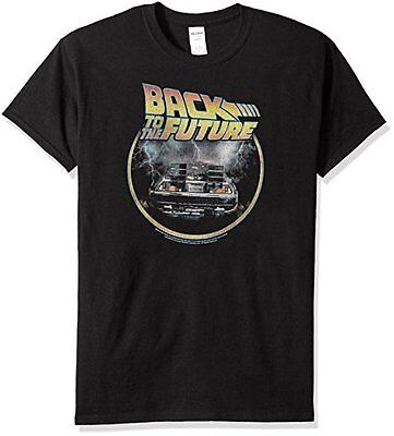 Trevco Men's Back to the Future T-Shirt, - Back To Future