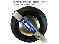 Jetski Wheel Clamp, Bulldog Trailclamp200. Make me an offer.