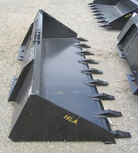 "Brand New 84"" Skid Steer Tooth Bucket"