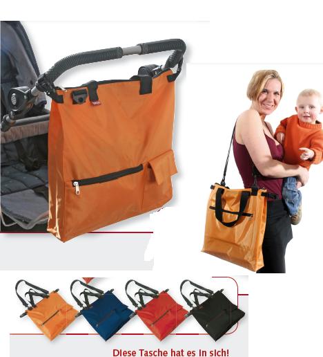Kinderwagentasche von benly, Organizer, Einkaufstasche Function, 600 d