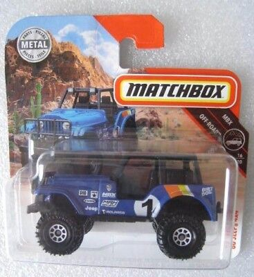Jeep Gladiator  2017  Matchbox 92//125  1:64  OVP  NEU