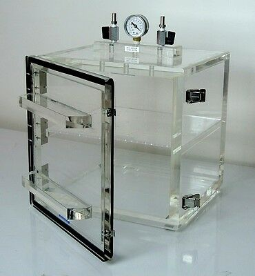 Vacuum Desiccator Cabinet Acrylic Wshelf Vacuum Gauge