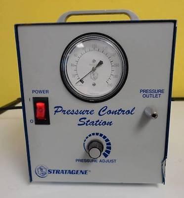 Stratagene Pressure Control Station Ii Cat No 400343 Used 30 Day Guarantee
