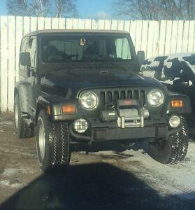 1998 Jeep Wrangler Sahara SUV, Crossover