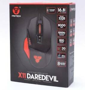 X11 DareDevil Gaming Mouse WITH WARRANTY