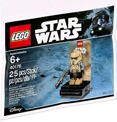 Lego Star Wars Scarif Stormtrooper 40176 Polybag - Brand New In Sealed Bag