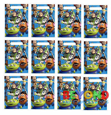 Disney Pixar Toy Story Loot Bags Favors & Party Bag Fillers Candy Treats Bags - Toys Story Party Supplies