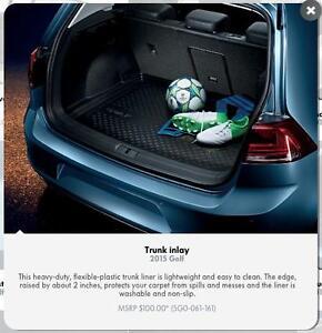 Heavy-duty trunk inlay for 2015 VW Golf/GTI MK7