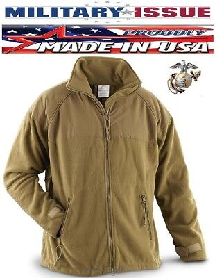New Usmc Marine Polartec 300 Fleece Jacket Ecwcs Gen Ii Coyote Liner  Xl X Large