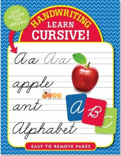 Handwriting : Learn Cursive!, Paperback by Peter Pauper Press (COR), Brand Ne...