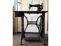 Wanted - Original Singer Sewing Machine Table (metal)