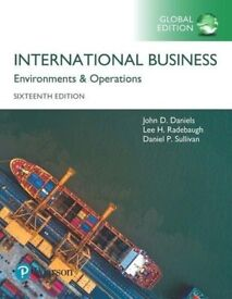 International Business: Environments and Operations, Global Edition