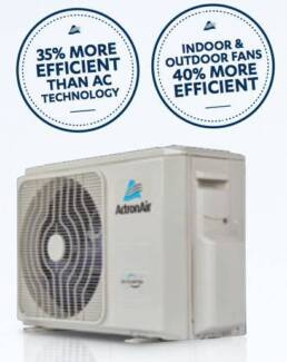 $1050 FULLY INSTALLED 2.6kw ActronAir Heat Cool