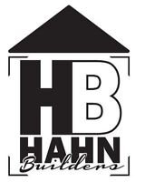 Skilled Labourer - Hahn Builders