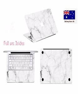 3 Sides marble Decal Skin Cover +keyboard cover For Apple Macbook South Plympton Marion Area Preview