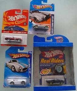 4 Hot Wheels Shelby Cobra 427 S/C Die Cast Cars MOC Ocean Reef Joondalup Area Preview