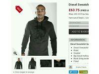 Diesel hoodie BNWOT