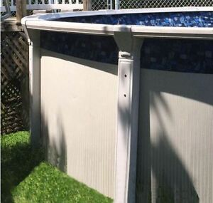 15 foot all resin above ground swimming pool for sale