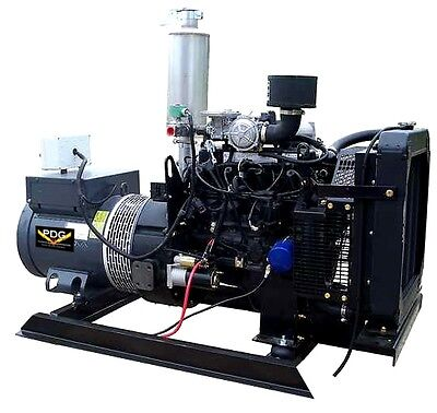 25 Kw Ford Natural Gas Generator Prime Use Genset