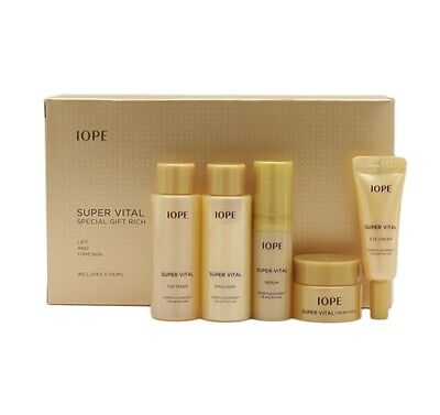IOPE Super Vital Speical Gift Rich Kit Miniature 5 items Firming SING-SING-GIRL