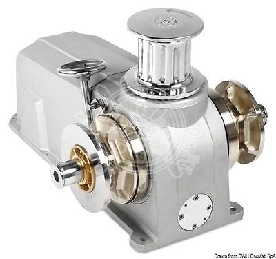 ITALWINCH Anchor Raja Aluminium Windlass Gypsy 24V 2300W For 12 mm Chain