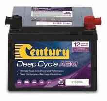 Century Deep Cycle AGM batteries on Special Coopers Plains Brisbane South West Preview