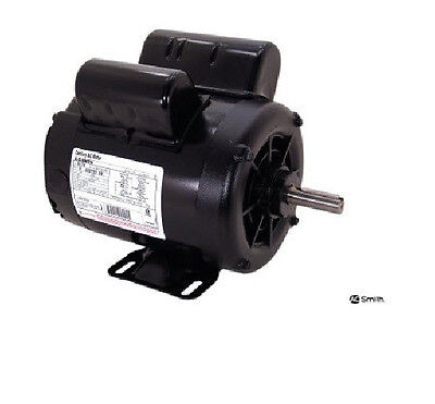 5 Hp 3450 Rpm Air Compressor Electric Motor 208-230 Volts New Century B385