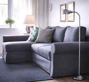 Brand New Denim Cover Only for the Ektorp corner sofa w/Chaise