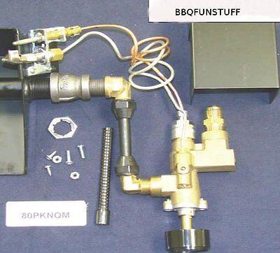 Fireplace Brass Gas Log Safety Pilot Light Natural Gas Complete Kit New